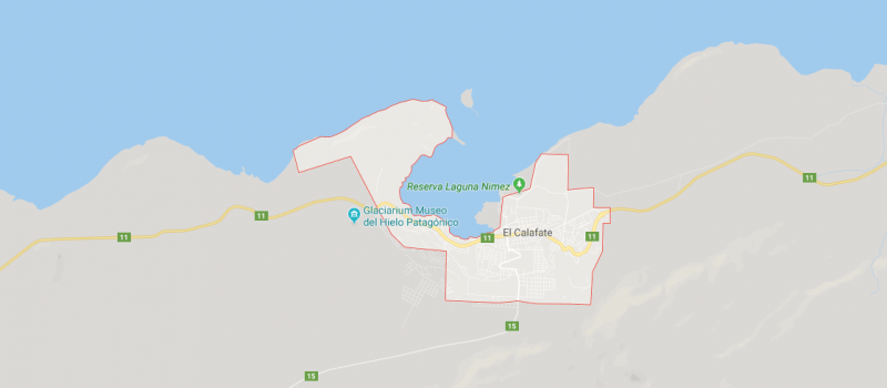 Mapa de El Calafate y sus calles, ¿Dónde queda y cómo llegar?